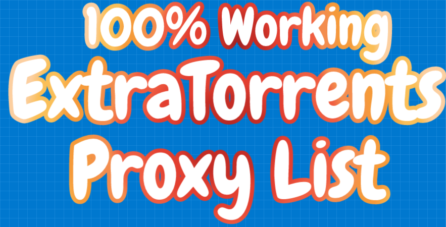 ExtraTorrents Proxy List
